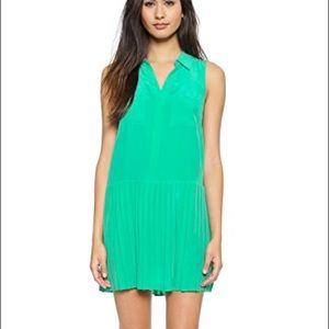 Joie Nila Drop waist silk dress